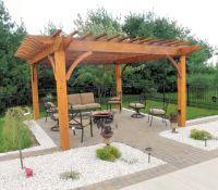 Wood Pergola Plans | custom patio pergola cedar pergola ...
