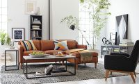 Classic Crafted Living Room   west elm   The Pink House ...