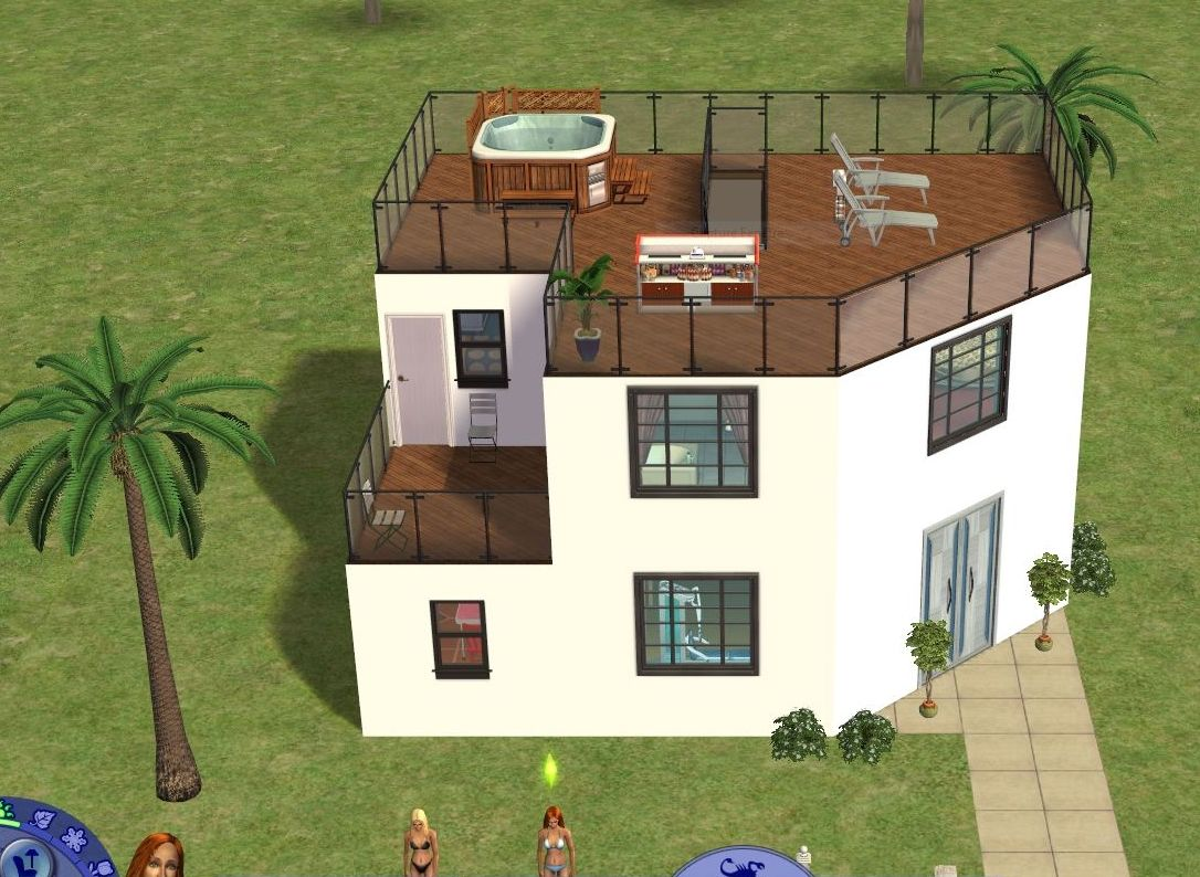 Plan De Maison Sims Hd Wallpapers Plan Maison Moderne Sims 2 Love908 Gq