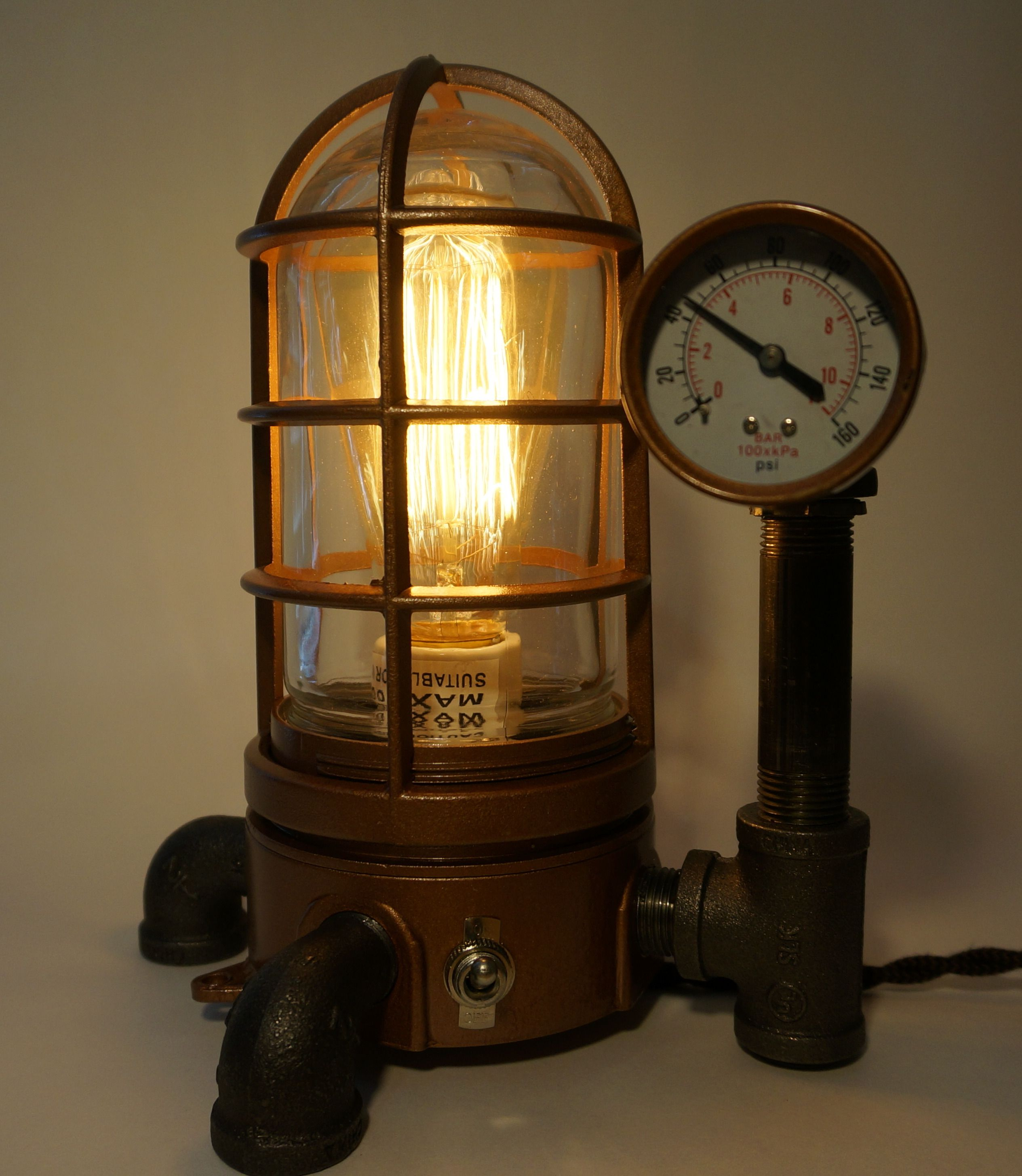 Steampunk Furniture For Sale Steampunk Vapor Proof Desk Lamp 43 Steamlit Steampunk