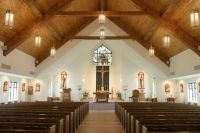Church arched cathedral tongue and groove ceiling - Google ...