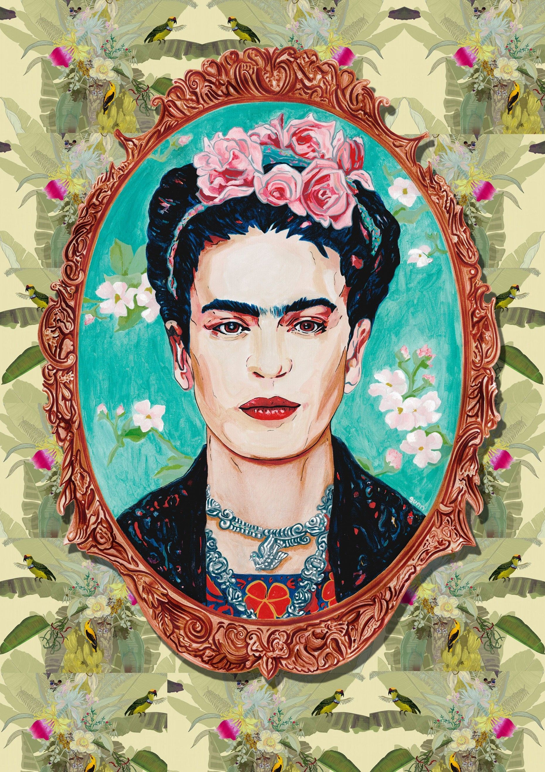 Frida Kahlo Pinturas Frida Kahlo Portrait Prints Click For More Images