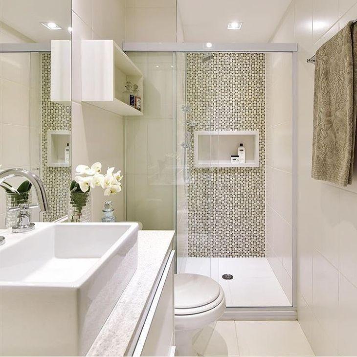 Nicho para banheiro 60 inspirações que aliam bom gosto e - badezimmer design massiv blox