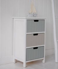 Beach free standing bathroom cabinet furniture with ...