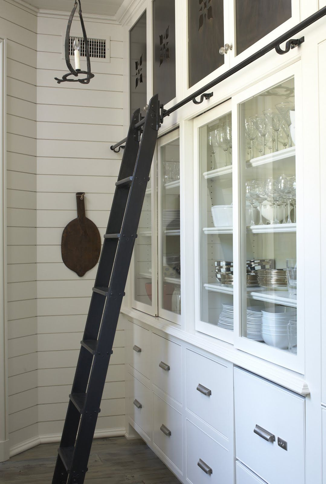 Kitchen Decor Ladder Wouldn 39t Want A Ladder In My Kitchen But Maybe The Butler