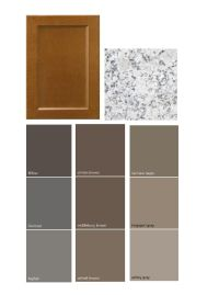 Dark taupe colored china cabinet | Kitchen Paint Colors ...