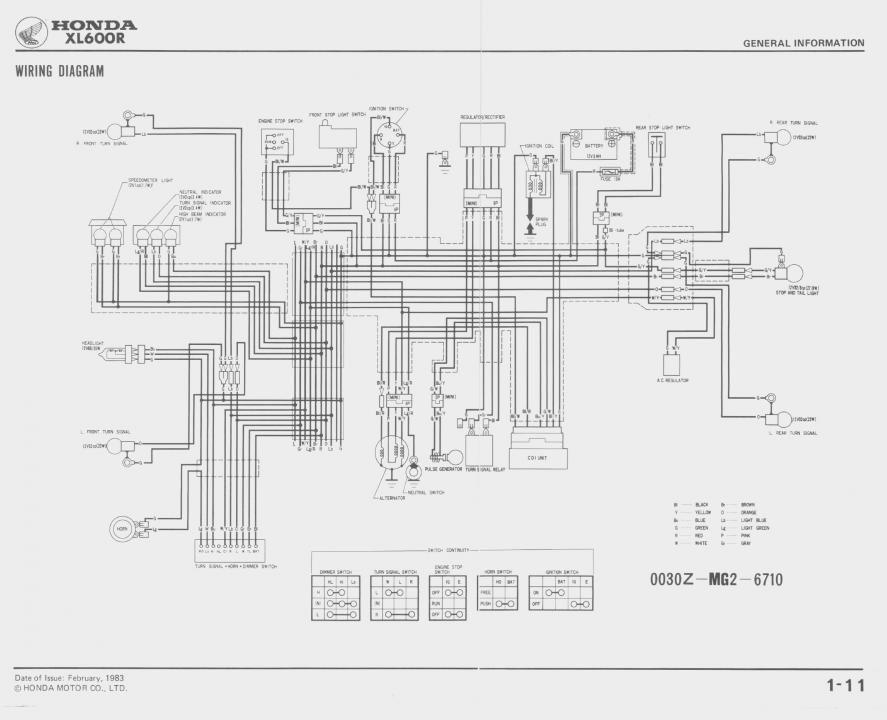 Astonishing Crf230L Wiring Diagram Basic Electronics Wiring Diagram Wiring Digital Resources Operbouhousnl