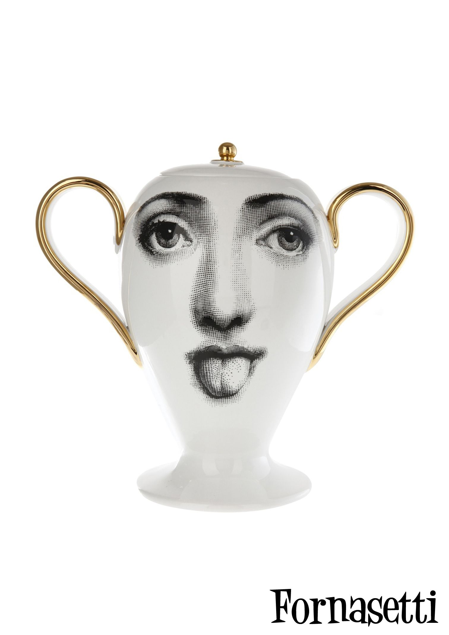 Fornasetti Face Wallpaper Fornasetti Favourite Ceramics Pinterest