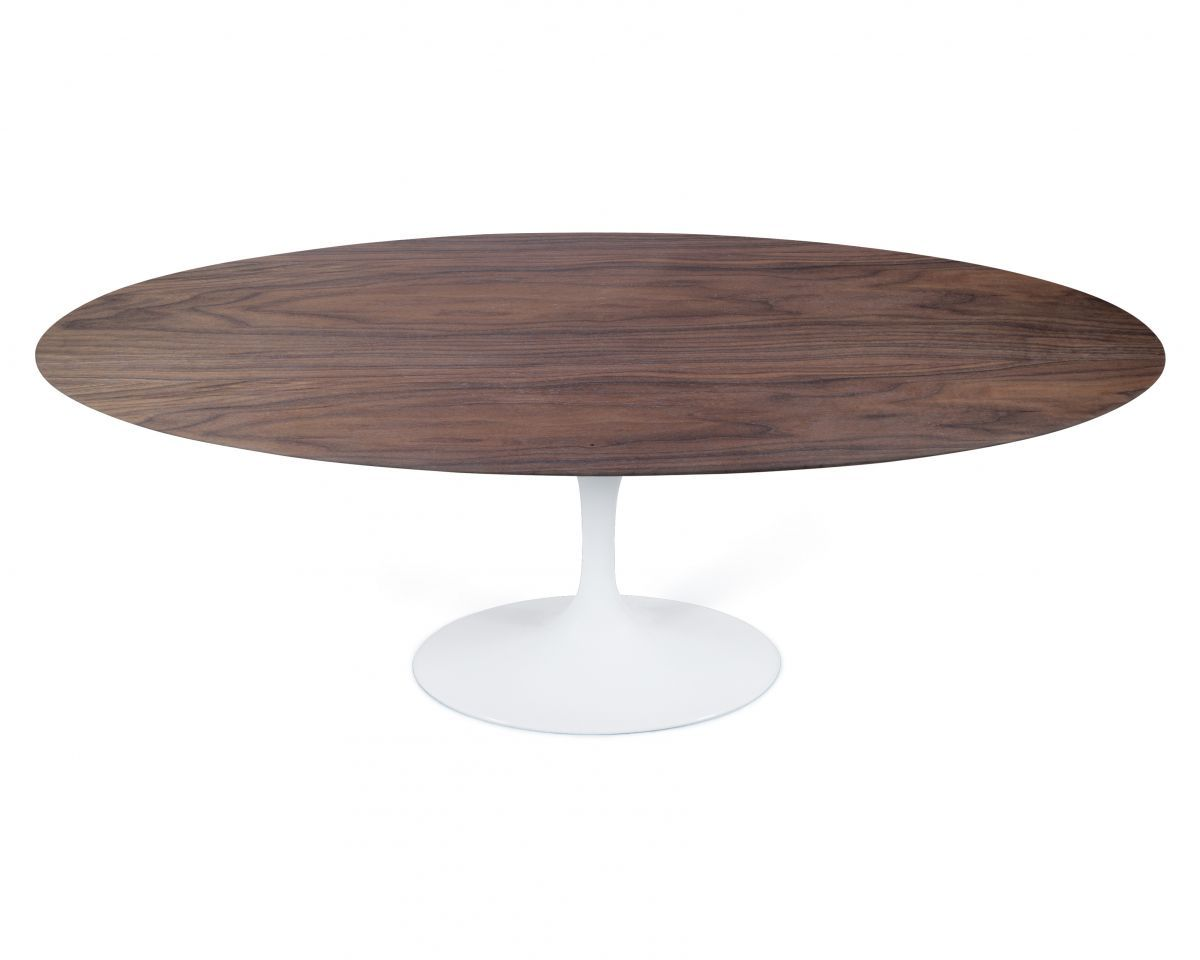 Tulip Table Tulip Table Oval - Walnut