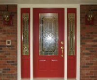 Astonishing Red Door Design Idea With Trellis, Stained ...