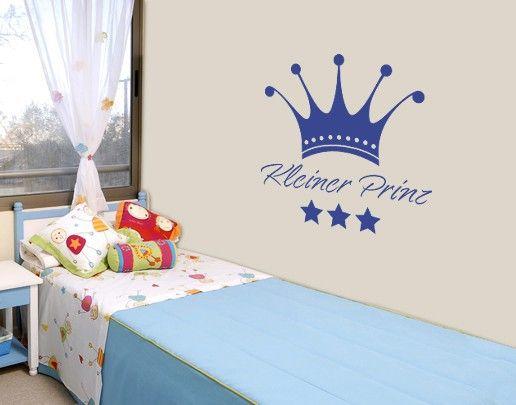 Wandtattoo Sprüche - Wandworte NoSF563 kleiner #Prinz #baby - wandsticker babyzimmer nice ideas