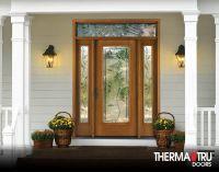 Therma-Tru Fiber-Classic Oak Collection fiberglass door ...