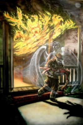 Firefighter Quotes About Courage Wallpaper Fire Firefighter Guardian Angel Jim Murphy Fire