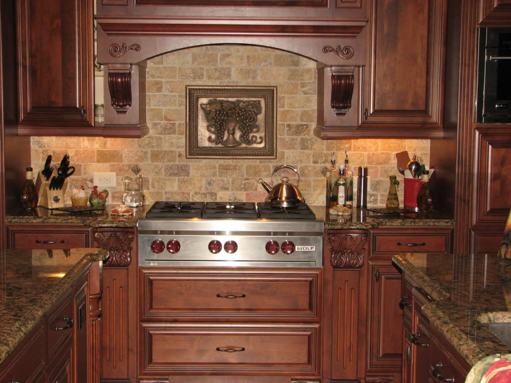 Spanish Tile Countertops Kitchen Tile Backsplashes Brick Backsplash Interior