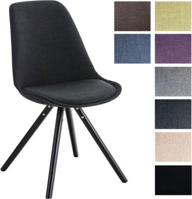 Design Stuhl PEGLEG mit Stoff-Bezug, Retro Design, Esszimmer-Stuhl - designer stuhl esszimmer