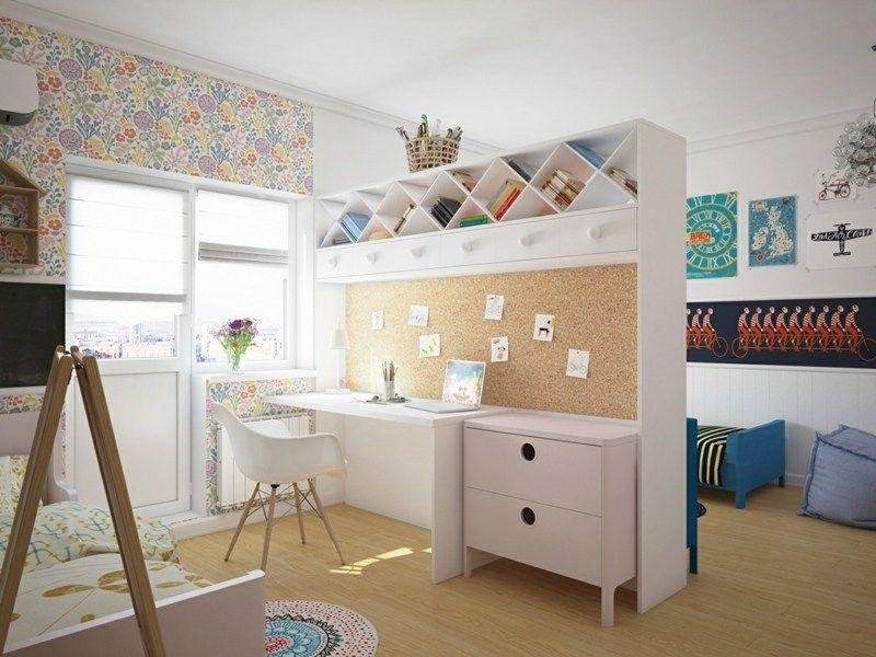 Kinderzimmer mit verspieltem Design - Doppelzimmer für Junge und - babyzimmer madchen und junge