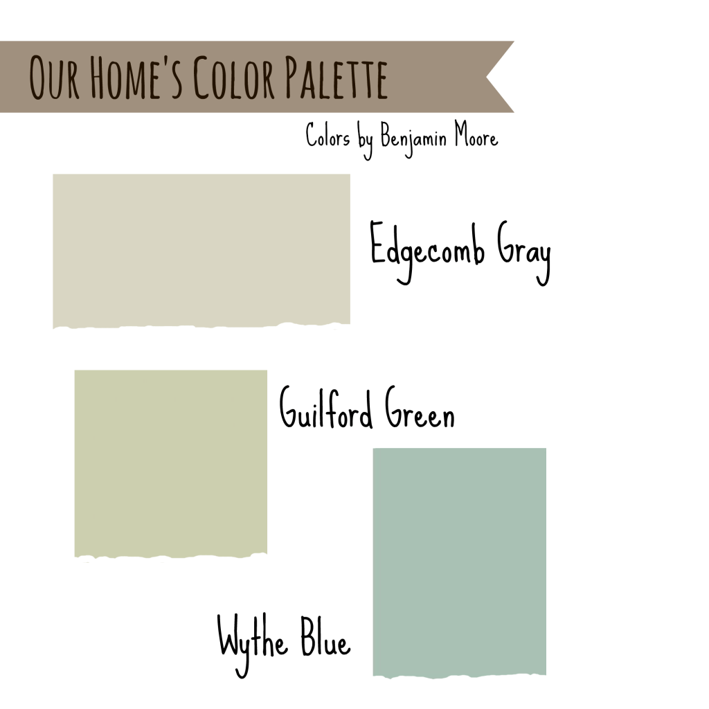 Colors That Complement Gray Walls House Colors Edgecomb Gray Wythe Blue And Guilford