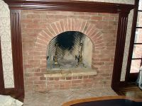 1937 year old brick fireplaces | Old Carolina Brick ...