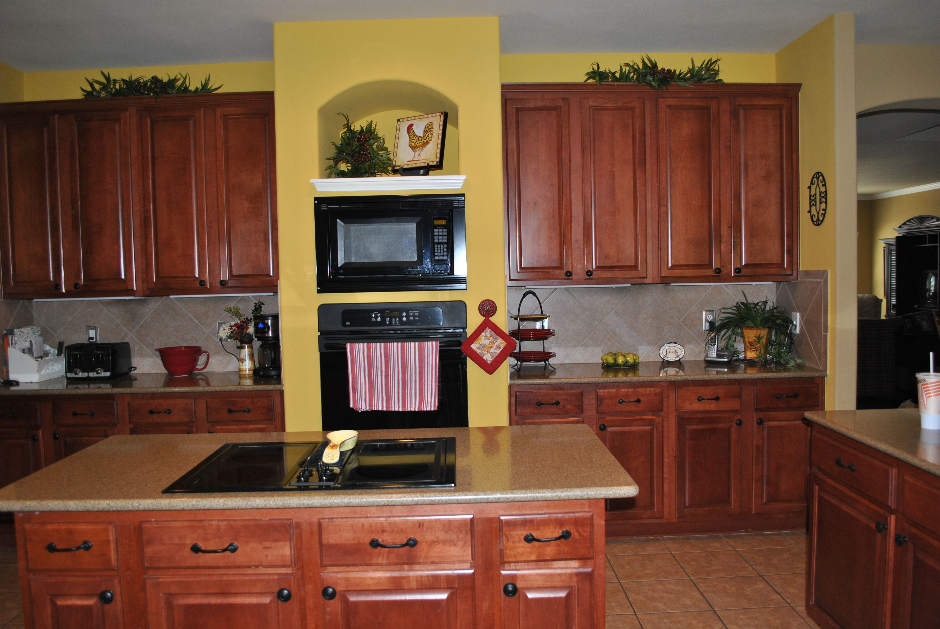 Kitchen Design Yellow Cabinets Yellow Kitchen Walls With Dark Cabinets I Don 39t Really
