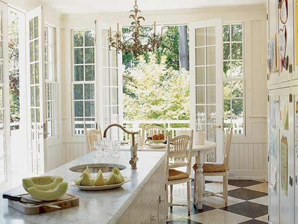 Cottage Style Kitchen Design - Zitzat.Com