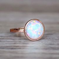 Rose Gold and Opal ring | My style album | Pinterest ...