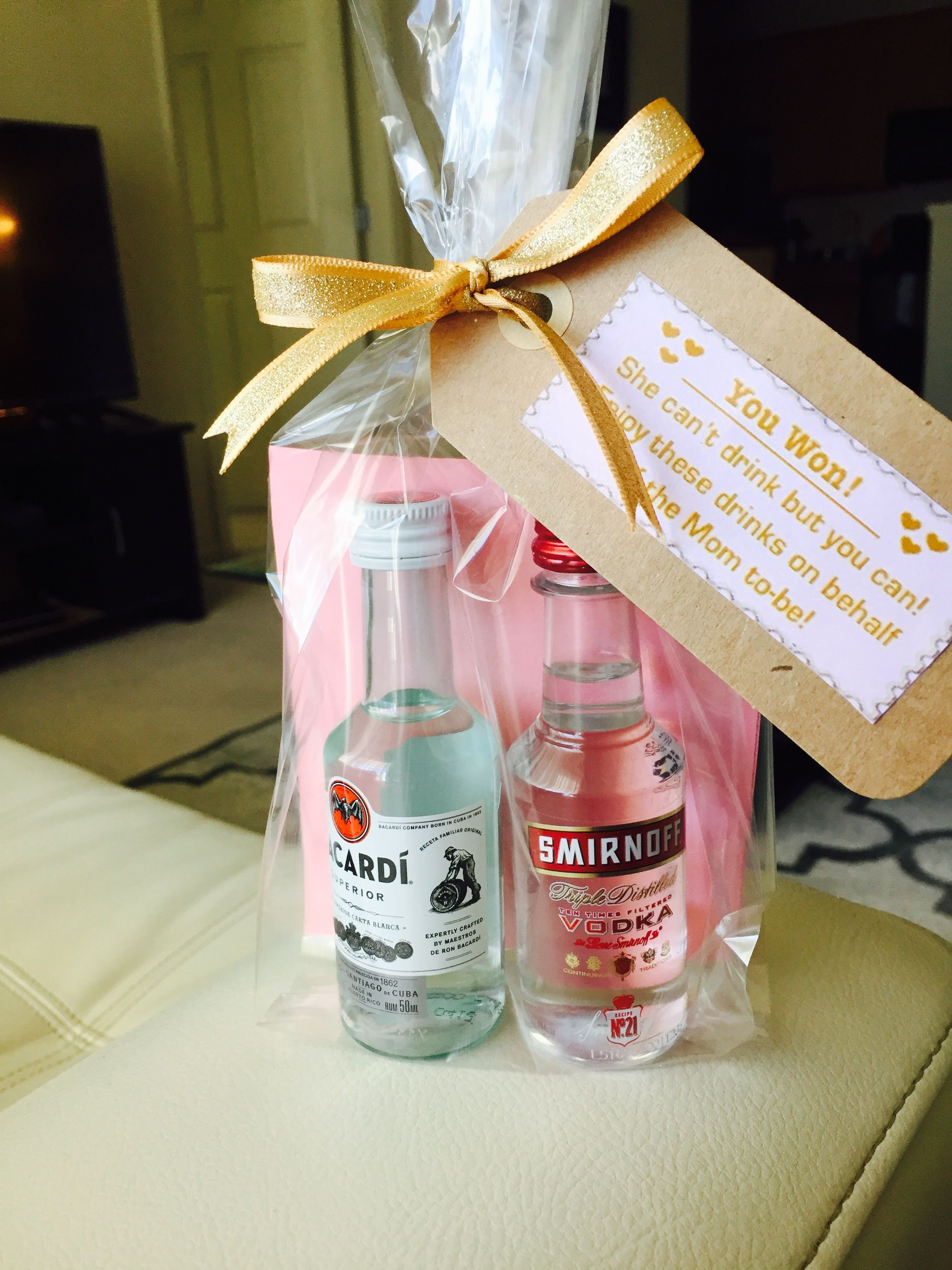 DIY baby shower game favors for men for a co