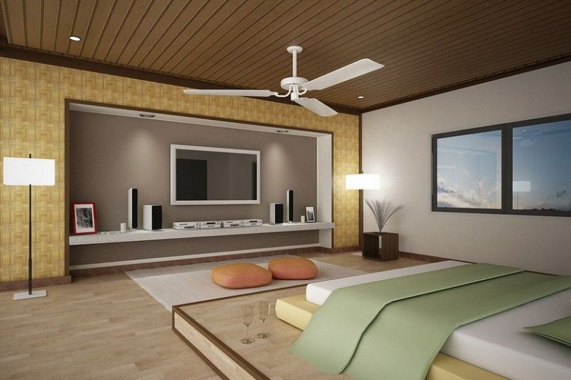 Mounted LCD TV Cabinet for Bedrooms LCD TV Cabinet for Bedrooms in - tv in bedroom ideas