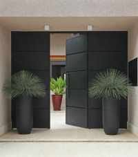 Modern Entrance on Pinterest