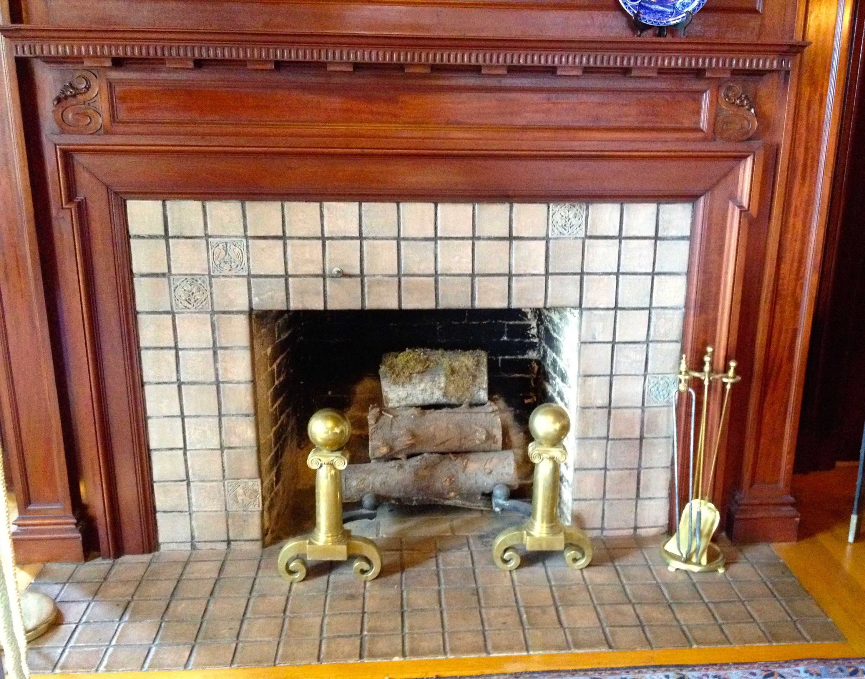 Bungalow Fireplace Mantel Fireplace Pittock Mansion 1914 House Interiors Early