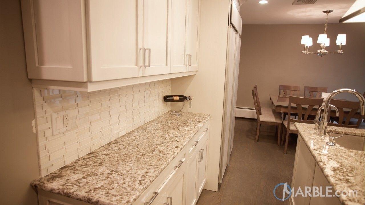 kitchen countertop material Bianco Antico Granite Counter Material