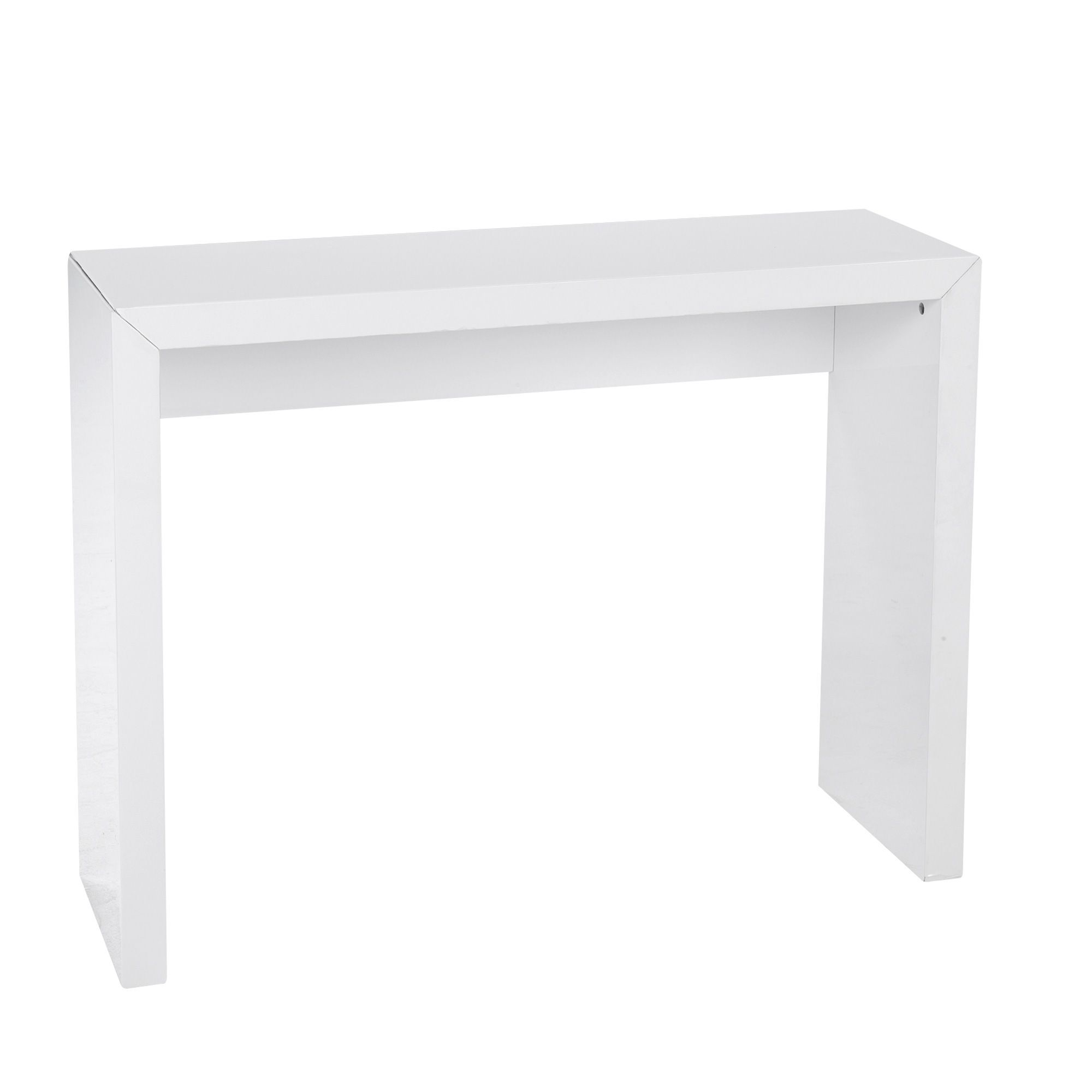 Console Extensible Blanche Table Console Blanche Table Console Extensible Habitat Simple