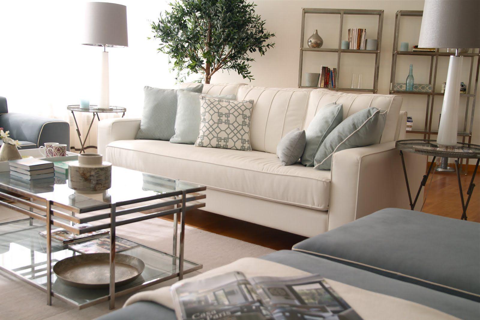 Light Blue And Grey Living Room blue grey living room