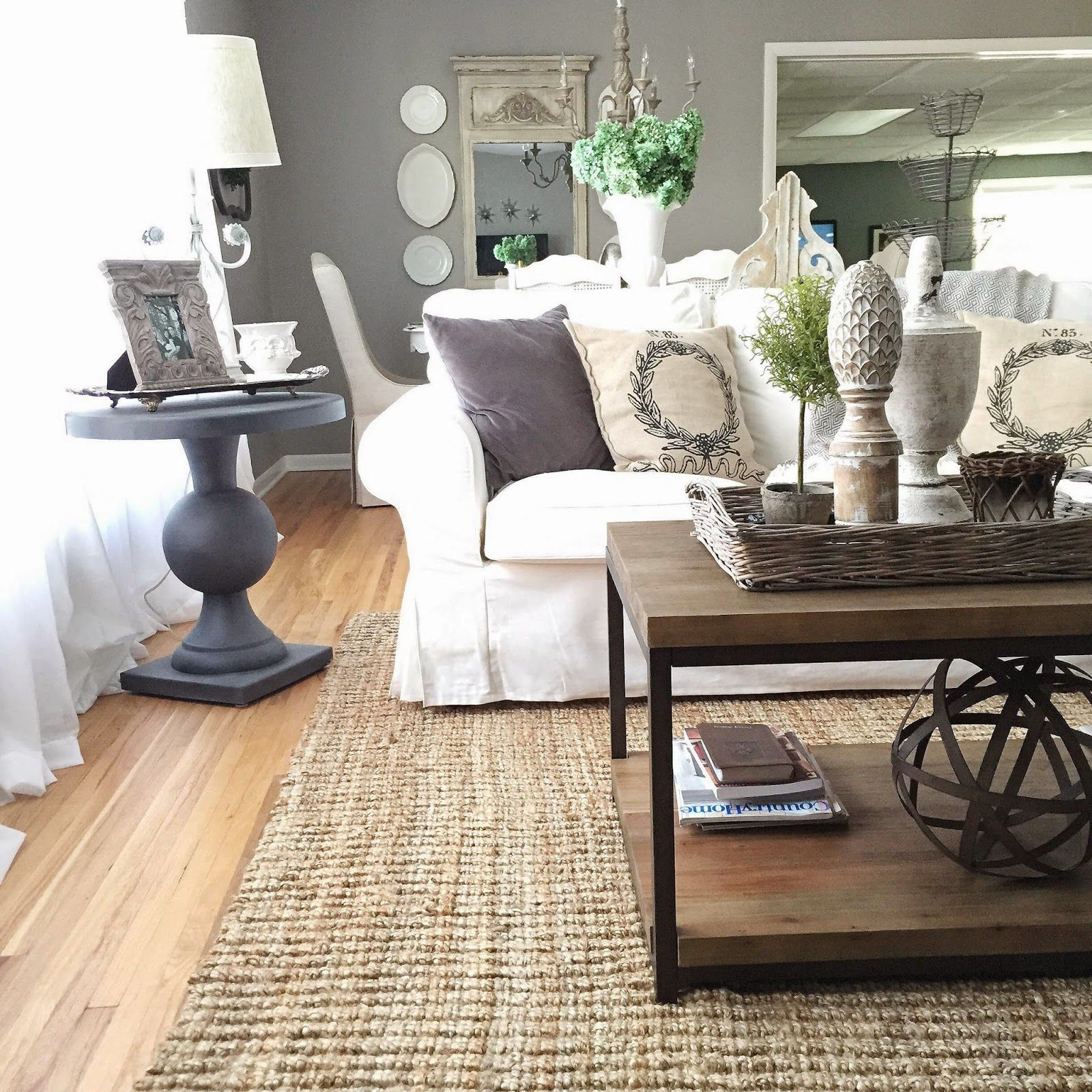 French Country Joanna Gaines Living Room Simple Dining Room Decorating Ideas Joanna Gaines Living