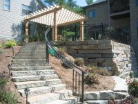 Outdoor Stair Railing Image : Types of Outdoor Stair