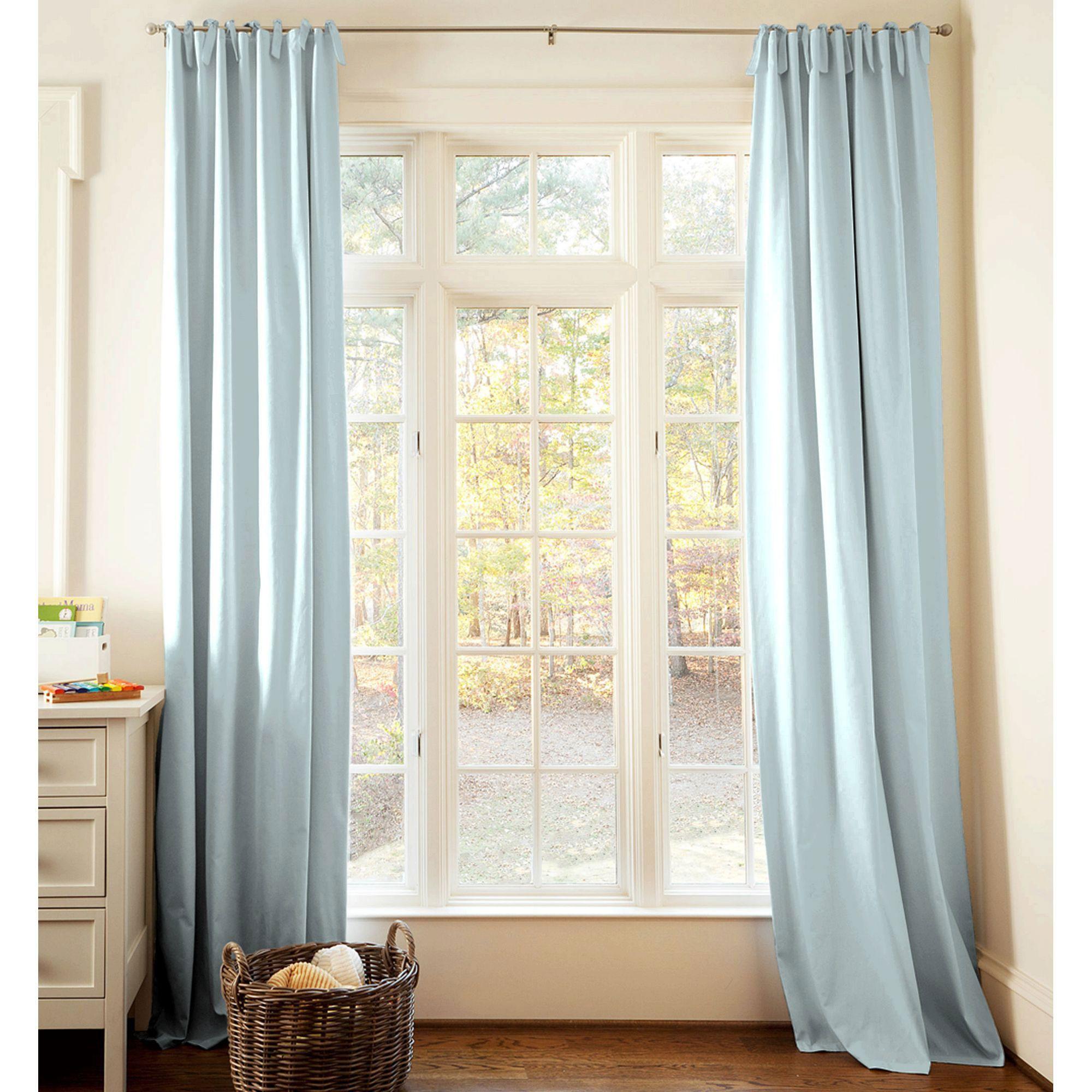 Solid robin s egg blue drape panel light blue curtainslight