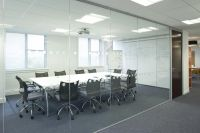 With grey walls though - glass conference room | Locations ...