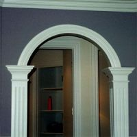 arch moulding | Fine Interior Trim by Madison Construction ...