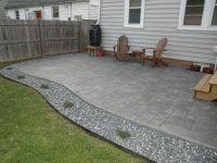 Good looking Poured Concrete Patio Design Ideas - Patio ...