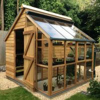 Greenhouse Storage Shed Combi from greenhousemegastore.com ...