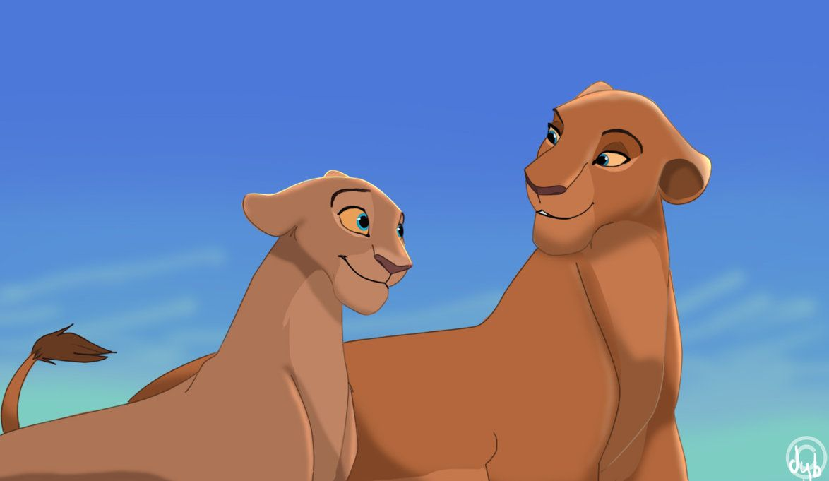 characters in the lion king movie nala lioness