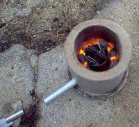 Homemade Crucible Furnace  Homemade Ftempo