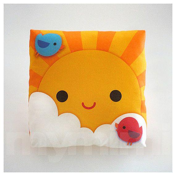 Decorative Pillow My Little Sunshine Throw Pillow Kids