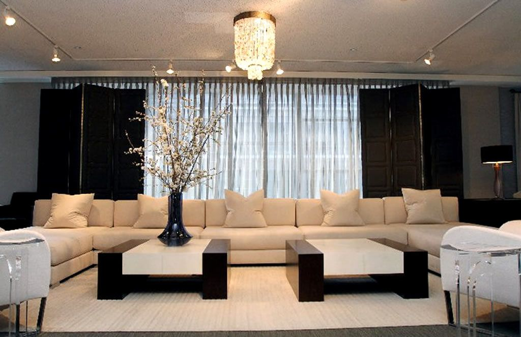 Luxury Furniture Retail Store Interior Design Donghia Showroom in - living room furniture nyc