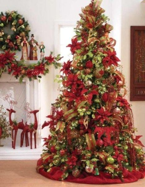 beautifully decorated christmas trees - Rainforest Islands Ferry - beautiful decorated christmas trees