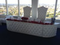 Leather Head Table Rental Los Angeles King and queen ...