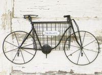 Vintage inspired metal bicycle wall art. This wall bike is ...