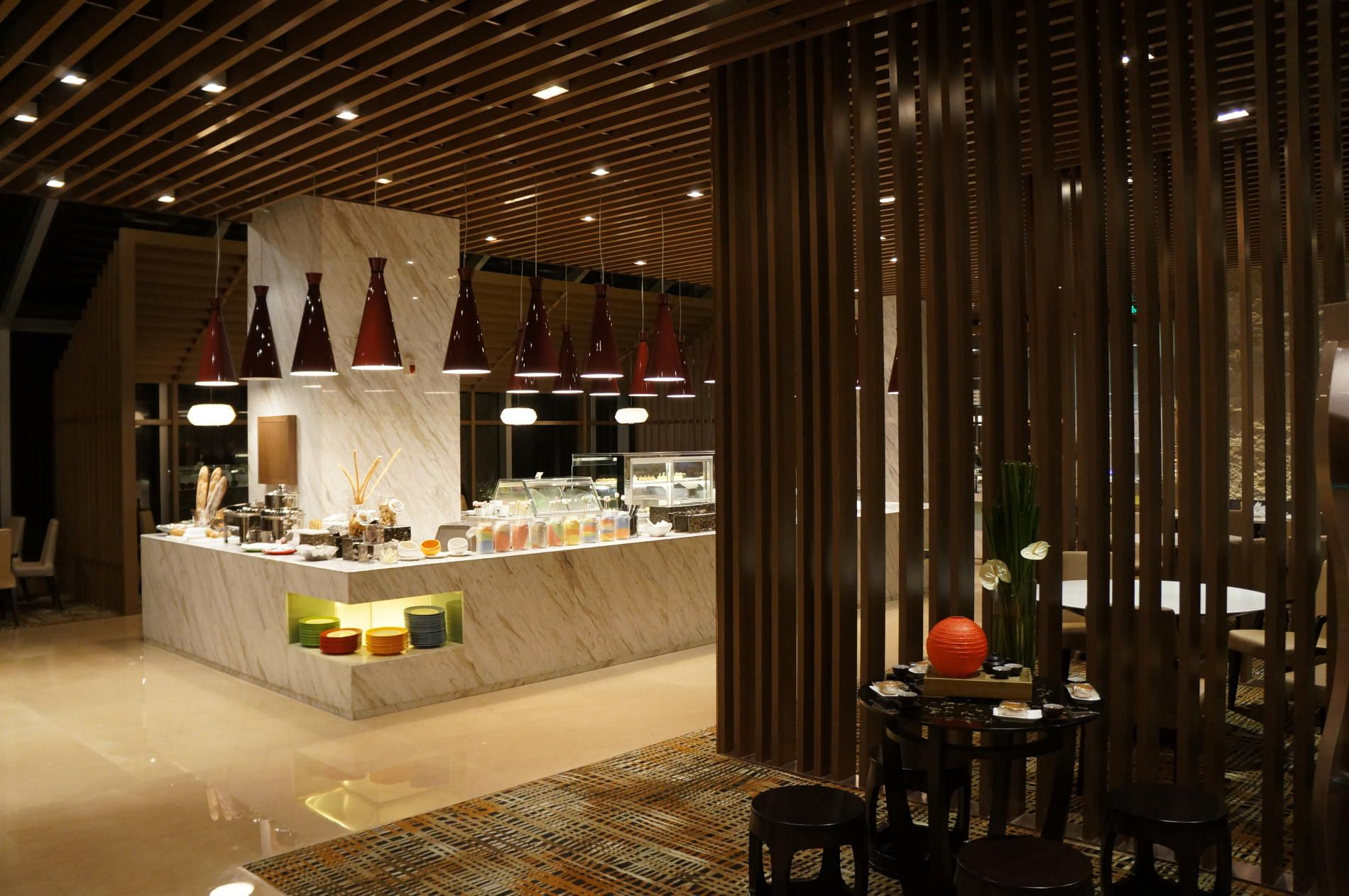 Modern Restaurant Kitchen Design Ultra Contemporary Hotel In Zhongshan China By Dwp