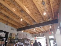 Open Beam Ceilings | next to me two women were each ...