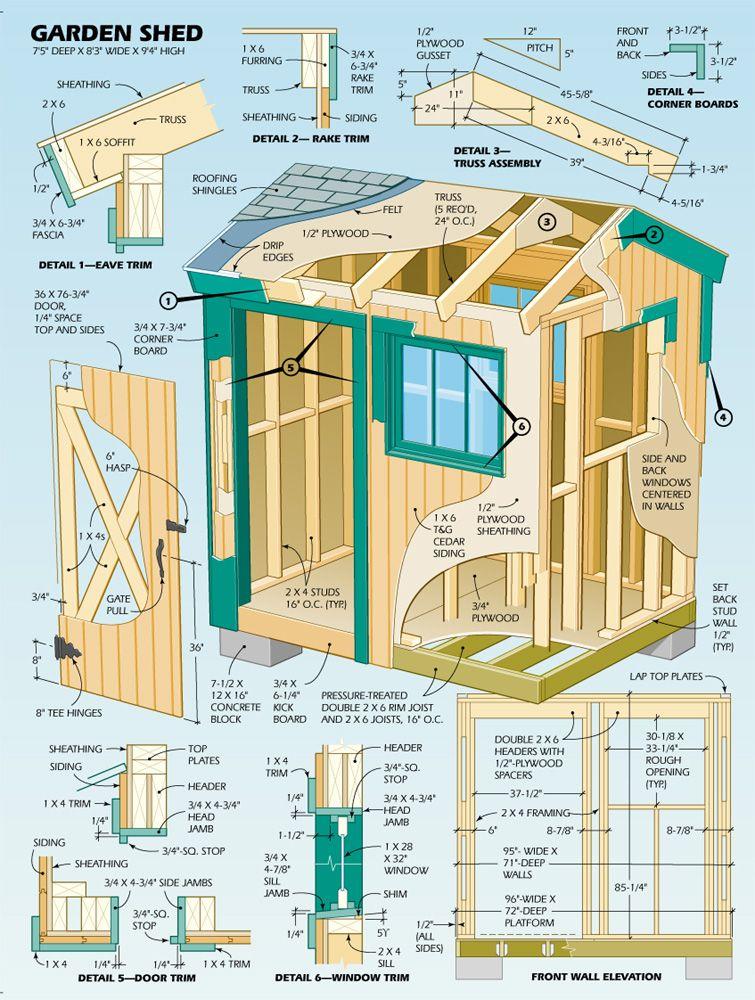 Super Shed Pallets garden, Gardens and Illustrations - garden shed design