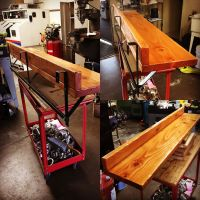 Balcony rail bar top | Wood Furniture | Pinterest ...